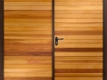 Horizontal Cedar Side Hinged