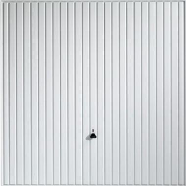 Carlton White Steel Door